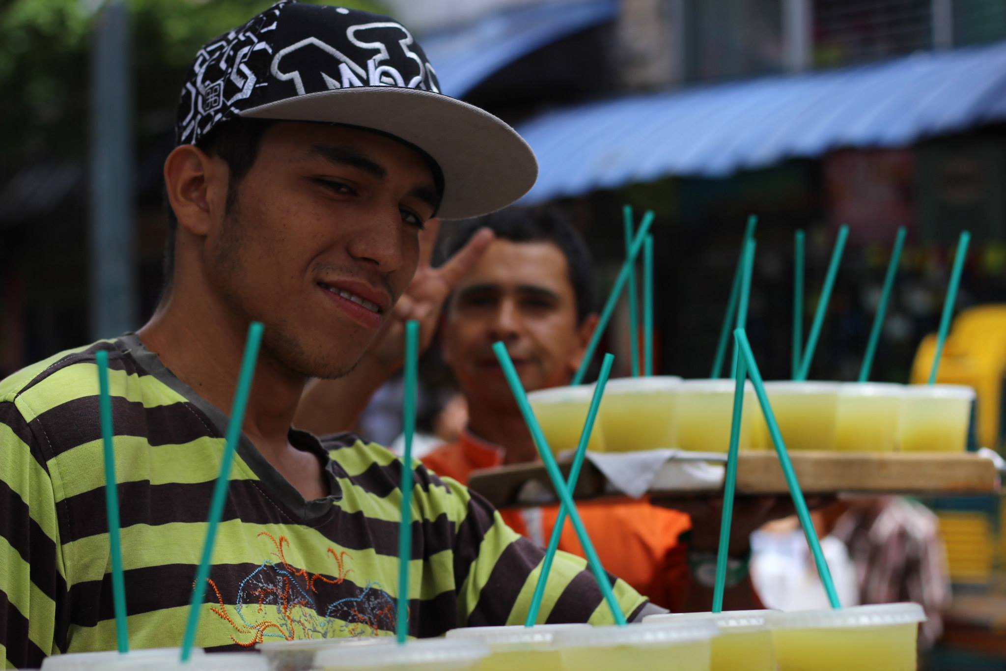 guarapo lemonade vendor real city tours medellin