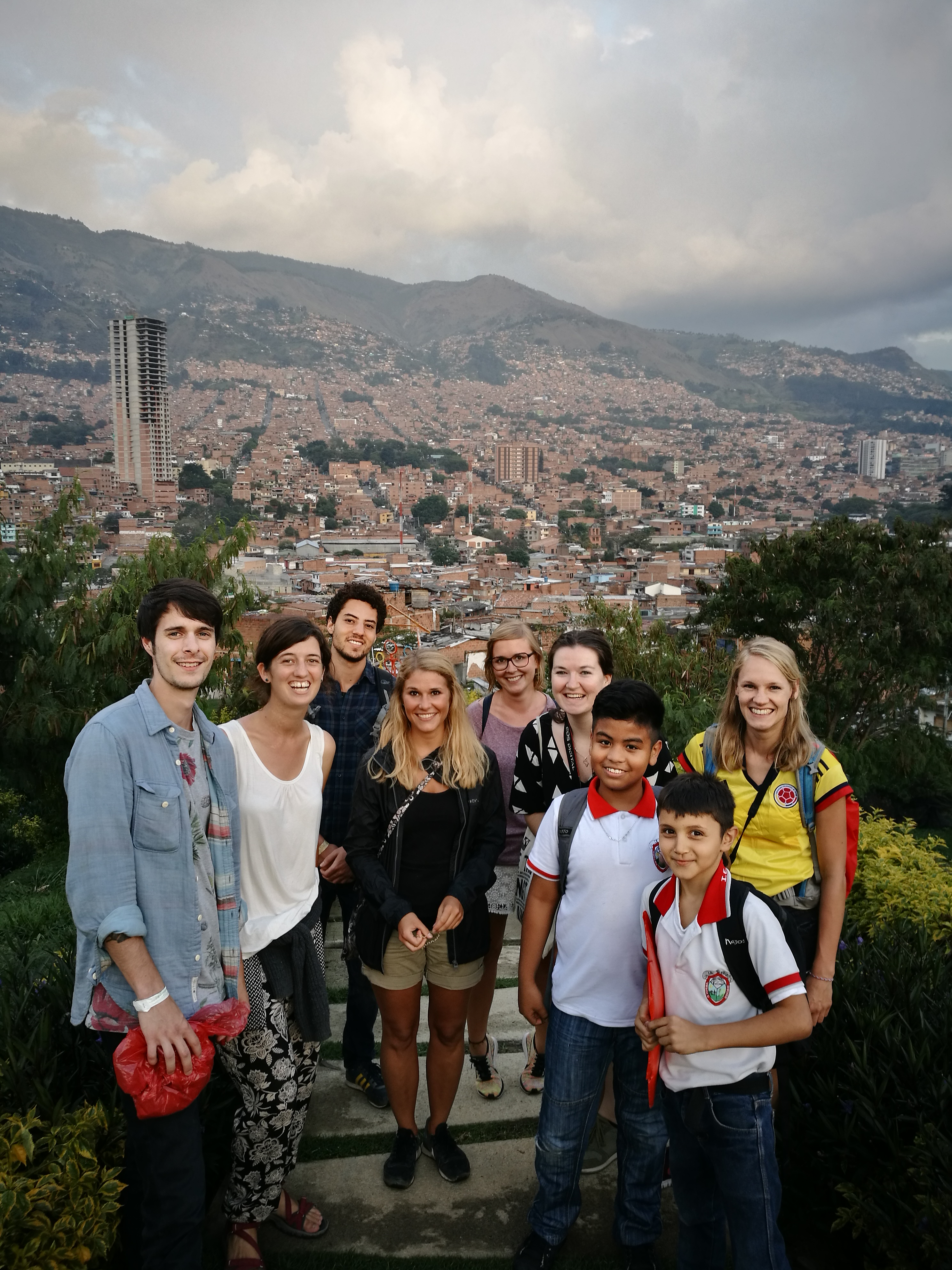 medellin city view from the hills real city tours medellin