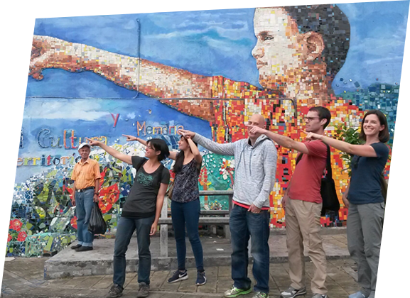 people in freewalking tour real city tours medellin