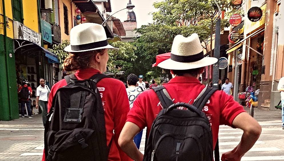 People touring in colombia - Real City Tours Medellin